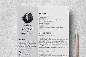 Resume   CV Template + Cover Letter