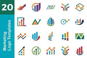 20 Logo Marketing Template Bundle
