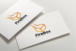 Fire Box Delivery Logo