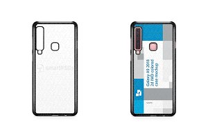 Galaxy A9 2d PC Colored Case Design