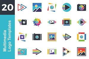 20 Logo Multimedia Template Bundle