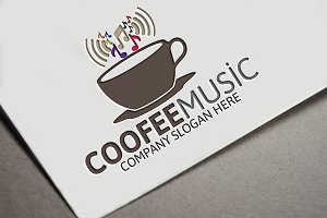 Coffee Music Logo