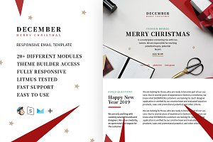 December - Christmas email template