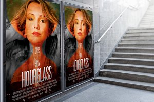 HourGlass Movie Poster Template