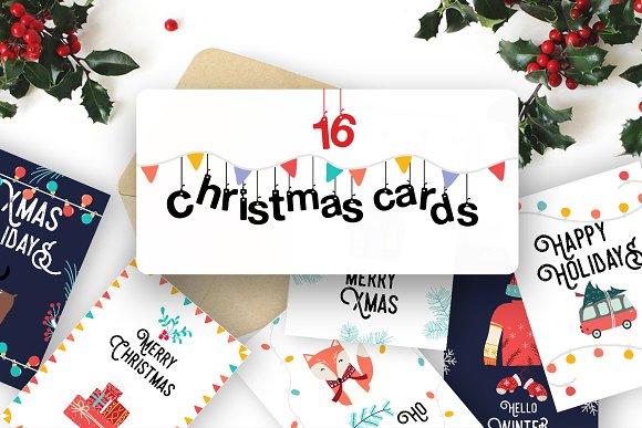 Cute Christmas Cards.Cute Scandinavian Christmas Cards