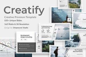 Creatify Creative Keynote Template