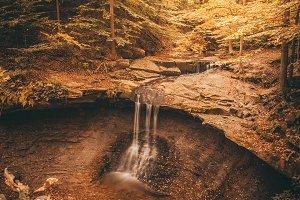 Waterfall Autumn Fall National Park