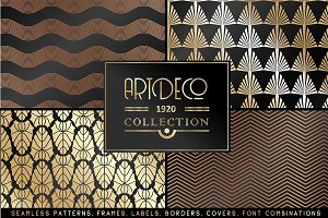 Art deco collection