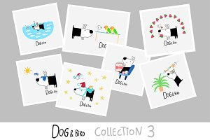 Dog & Bird Collection 3