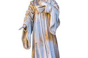 Religious Man Sculpture, Barcelona,