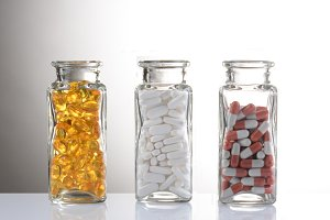 Medication in Bottles