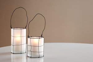 Two beautiful lanterns