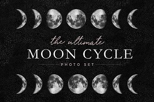 Moon Cycle Photo Set
