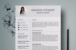 Resume Template   CV + Cover Letter