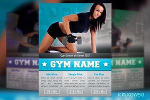 Simple Gym Flyer