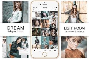 Cream Instagram Lightroom Presets