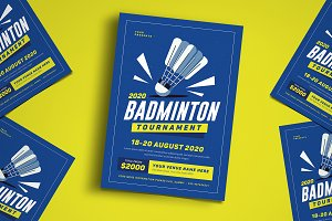 Badminton Flyer