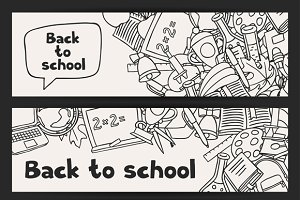 Back to school backgrounds.