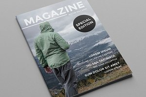 (20% Off!) Adventour A4 Magazine