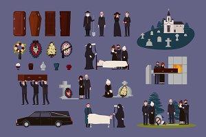 Funeral set