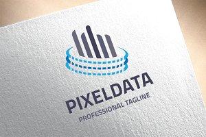 Pixel Data Logo