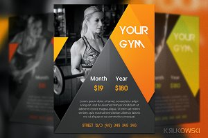 Dark Gym Flyer
