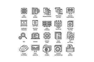 Seo and app development. Search