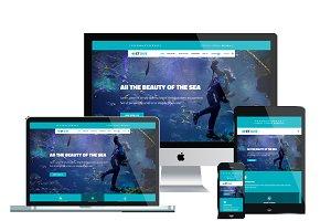 ET Dive Scuba diving website Joomla