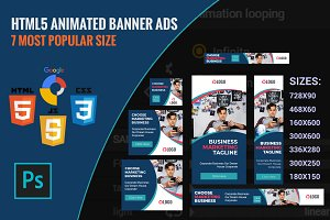 Animated HTML5 Ads Template