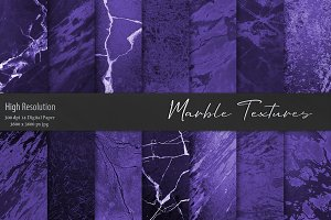 Purple Marble Textures, Backgrounds