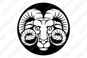 Ram Aries Zodiac Sign