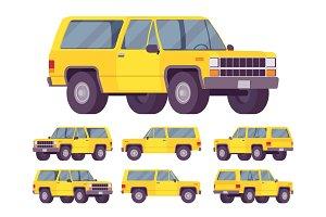 Yellow offroad set