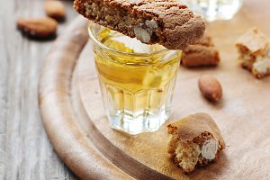Italian cookie cantuccini