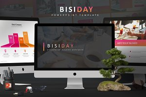 Bisiday - Powerpoint Template