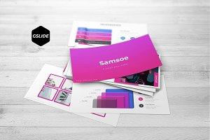 Samsoe - Google Slides Template