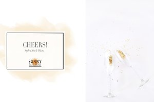 Cheers 1 - Styled Stock Photo