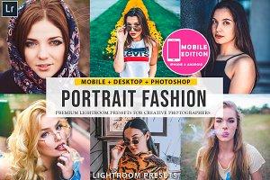 Portrait fashion Lightroom Presets