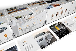 Cars Rental and Sell Google Slides