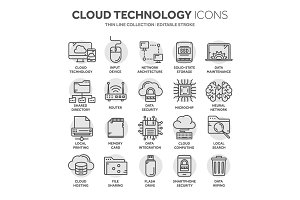 Cloud computing. Internet technology