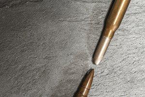 Weapon cartridges ammunitions backgr