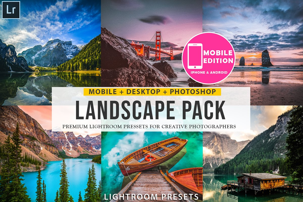 Landscape Lightroom presets ~ Photoshop Add-Ons ~ Creative