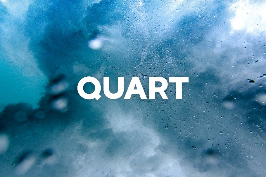 QUART - Cool Display / Headline Font in Cool Fonts - product preview 8