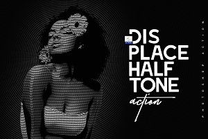Displace Halftone