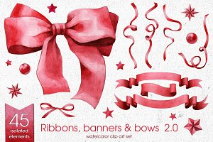 Ribbons, Banners & Bows set 2.0