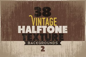 Vintage Halftone Texture/Backgrounds