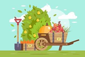 Harvest and farm equipment