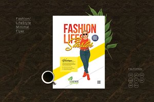 LifeStyle Minimal Fashion Flyer