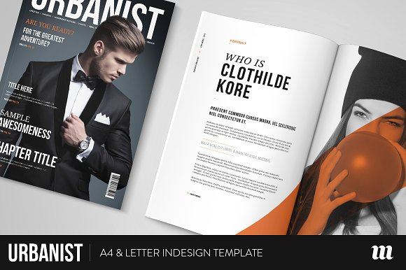 Urbanist Magazine InDesign Template ~ Magazine Templates ...