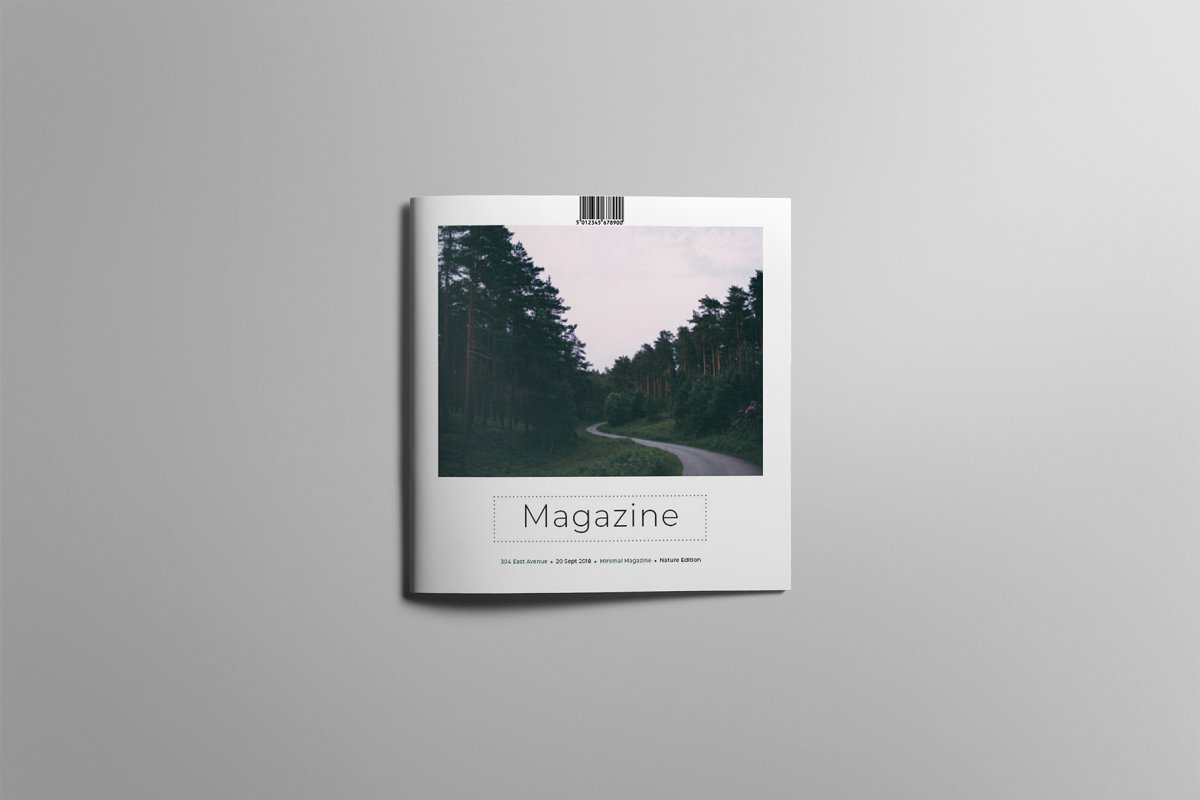 Multipurpose Square Magazine