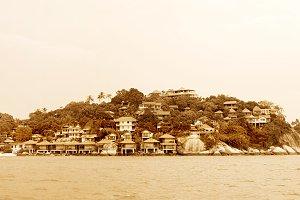 Koh Phangan island view, Thailand